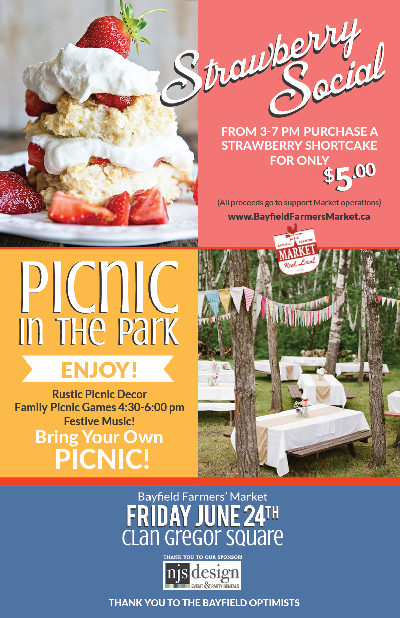 Strawberry Picnic Bayfield